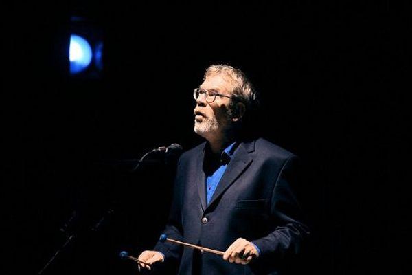 Dick Annegarn, aux Francofolies de La Rochelle, en 2014.