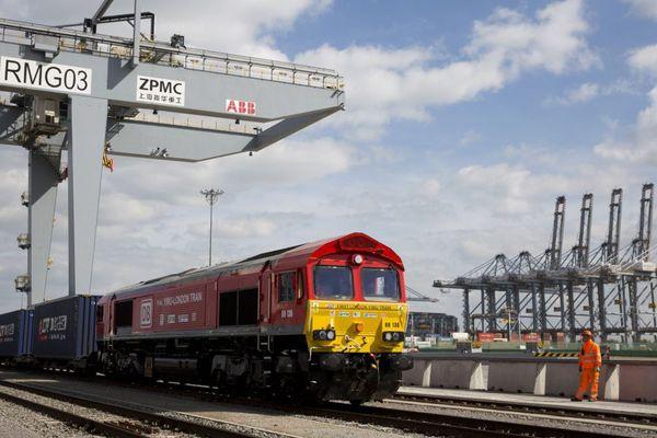 Le train est parti ce lundi matin de Corringham, à l'Est de Londres.