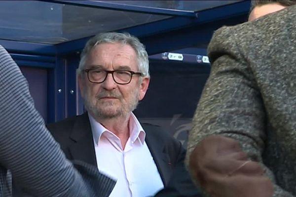 Jean-François Fortin, le président du Stade Malherbe de Caen