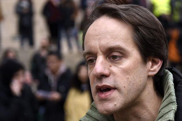 Le président des Amis de la terre, Florent Compain s'était porté avec 74 autres personnes co-organisateur de la marche pour le climat de Nancy.