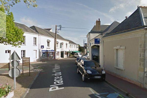 Un homme agressé devant une banque à Montlouis-sur-Loire