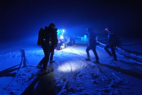 Les opérations de secours en montagne ont augmenté depuis Noël dans les Vosges alsaciennes