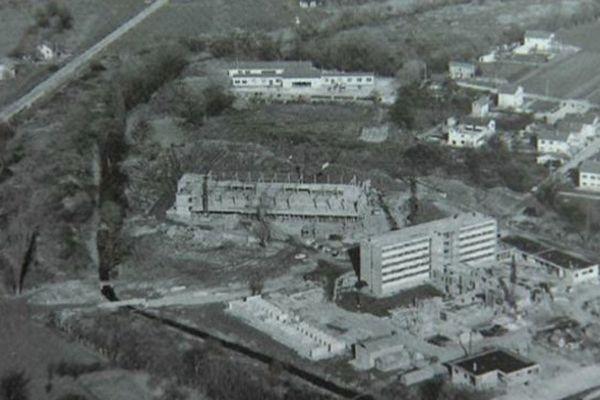 En 1963 campus voit le jour au milieu des salades et des poireaux
