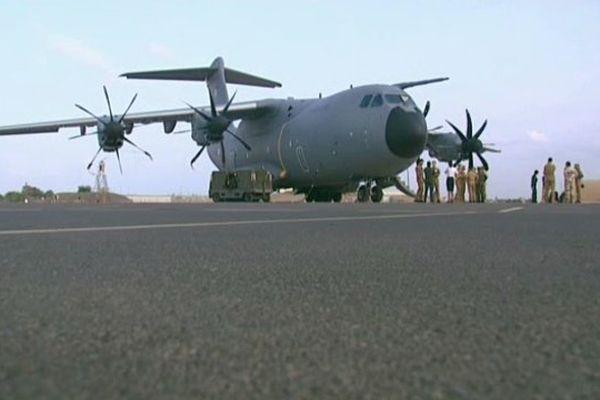 1er vol test long-courrier pour l'A400M à Djibouti