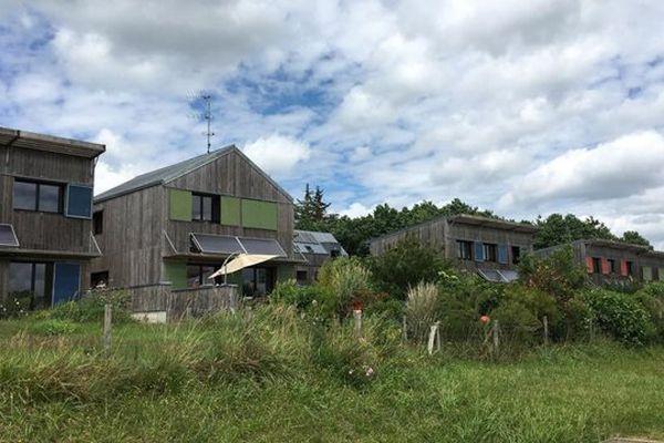 Le lotissement écologique de La Pelousière à Langouët est déjà un exemple de réflexion autour de l'habitat