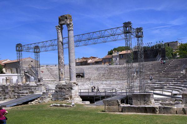 Le théâtre antique d'Arles est l'une des scènes principales où se produiront les artistes du monde entier pour la 23ème édition du festival Les Suds