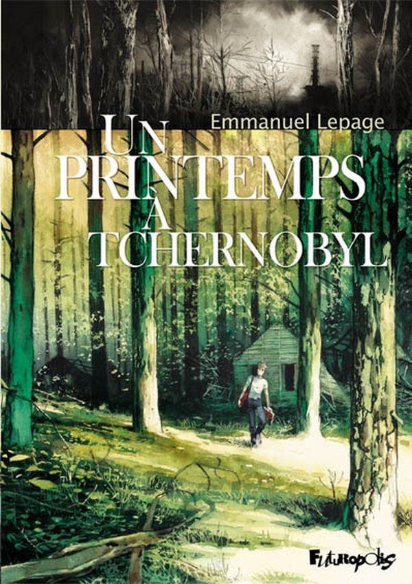 La couverture du dernier album d'Emmanuel Lepage