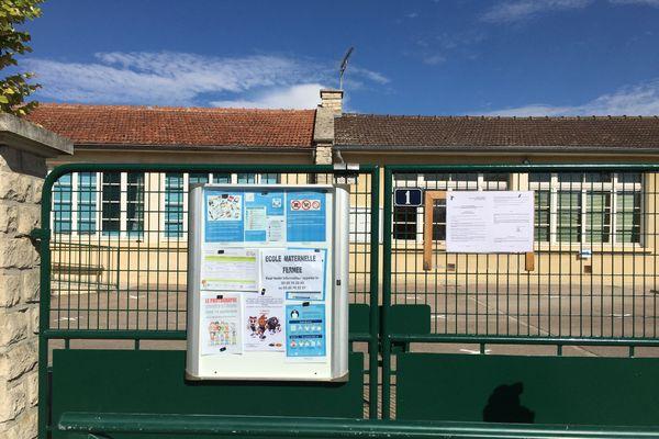 L'école maternelle de Sainte Maure fermée jusqu'à nouvel ordre à compter du 4 septembre