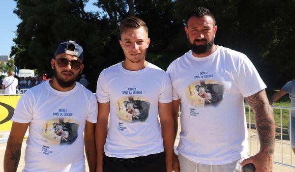 Mondial La Marseillaise à pétanque 2019 : la triplette Roure éliminée en 8e de finale.