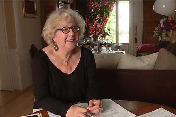 Annie Bouvier, moins de 1000 euros de retraite et 700 euros de charges