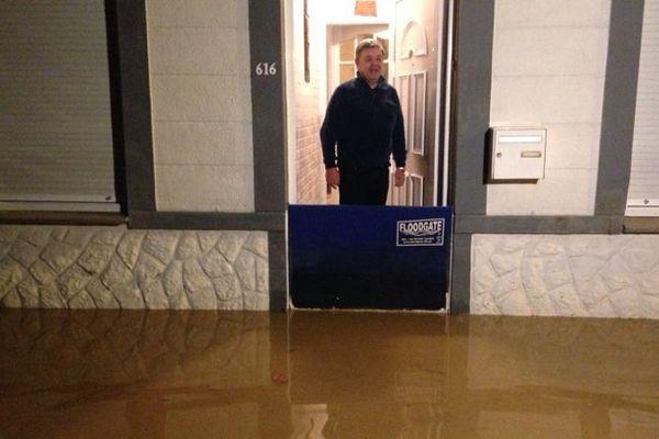inondations à Saint-Jans-Cappel ce mercredi soir