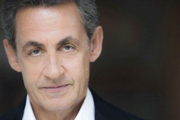 La photo de couverture du livre de Nicolas Sarkozy