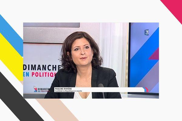 Pauline Rivière, invitée de Dimanche en Politique du 4 juin.