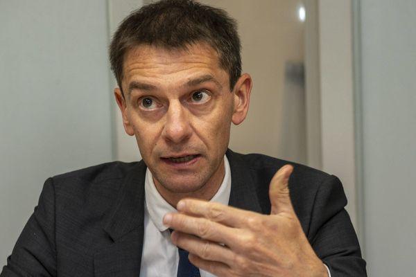 Stéphane Mulliez, directeur de l'Agence régionale de santé de Bretagne