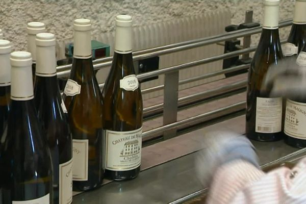 Les exportations de vin étaient pénalisées par la surtaxe douanière mise en place par le Président Trump