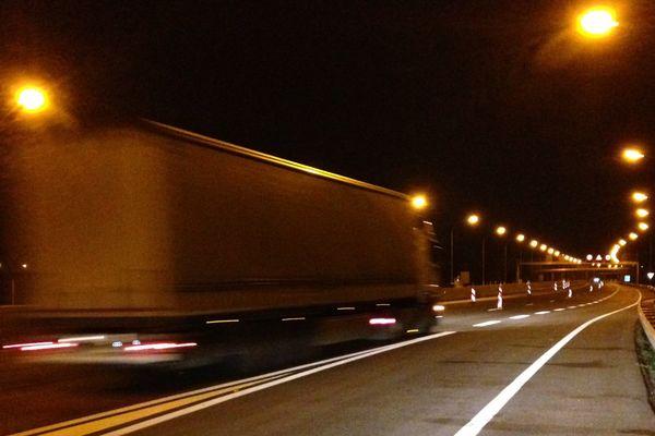 La circulation était encore normale à Zoufftgen dans la nuit du 13 au 14 novembre 2015