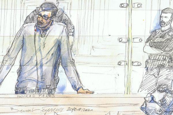 """L'ex-recruteur djihadiste originaire de Haute-Savoie Mourad Farès a exprimé ses """"regrets"""" lors de son procès."""