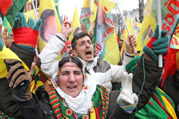En 2017, la manifestation des Kurdes à Strasbourg a réuni entre 15.000 et 20.000 personnes.