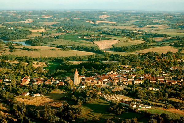 Le paysage du Gers