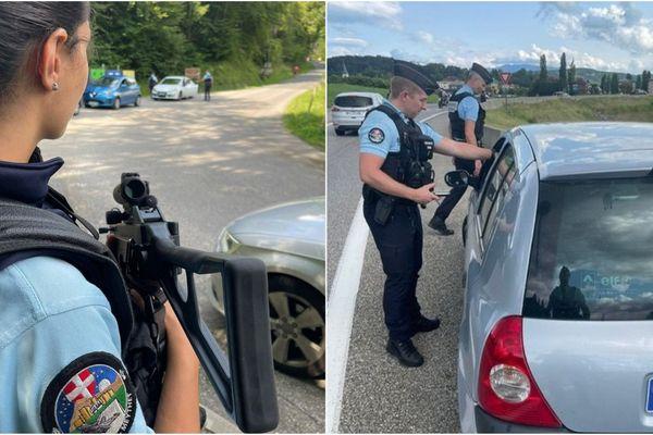 Plus de 200 personnes ont été contrôlées par les gendarmes