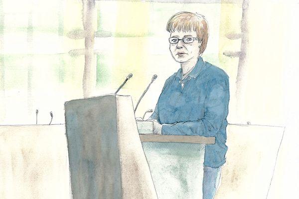 Myriam est commerçante. Vendredi 22 novembre, elle raconte à la cour le comportement obscène de Willy Bardon à son égard.