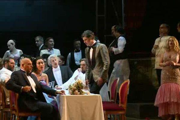 La Traviata, jouée à Nice les 11, 13, 15, 17 novembre 2015