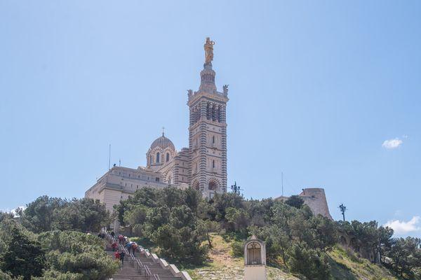 Fermée durant deux mois, l'esplanade de Notre-Dame de la Garde va rouvrir ses portes pour l'Ascension.
