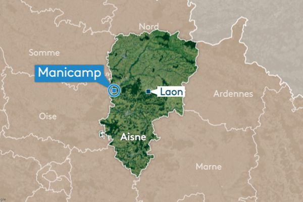 Le drame s'est produit à Manicamp, dans la vallée de l'Oise