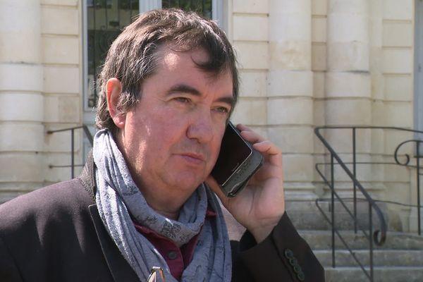 Eric Proust, maire de Saint-Georges-d'Oléron