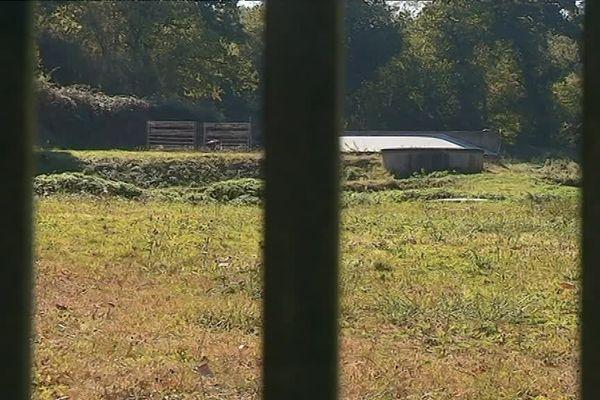 Le corps de Mickaël Jouis a été retrouvé à cet endroit en juin 2002