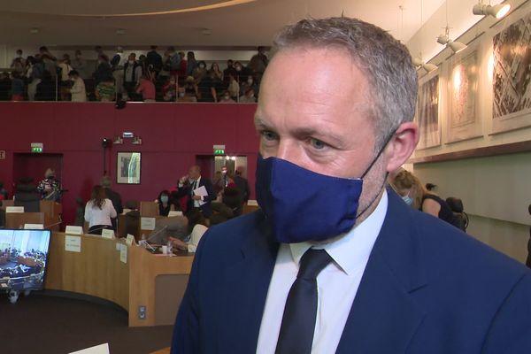 Jérôme Sourisseau prendra la tête de l'opposition dans la nouvelle assemblée.