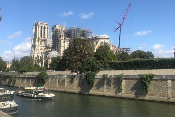 Le chantier était interrompu depuis le 25 juillet dernier après des risques de contamination au plomb.