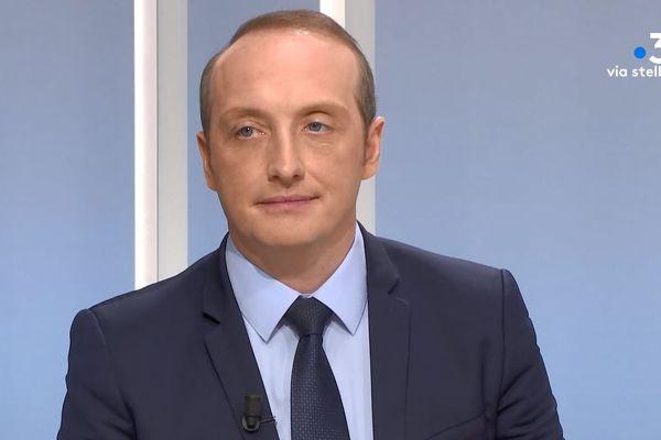 Laurent Marcangeli, maire sortant et tête de liste de Fieri d'esse aiaccini