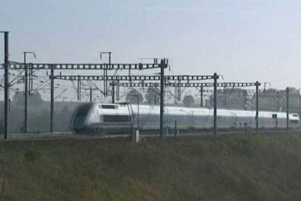 Un TGV est en Meuse