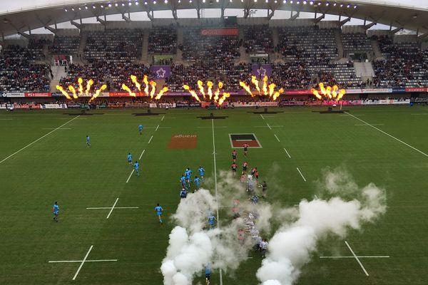 Montpellier - derby MHR-Stade Toulousain au GGL Stadium - 19 octobre 2019.