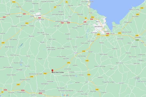 La commune du Haut-Corlay, dans les Côtes d'Armor