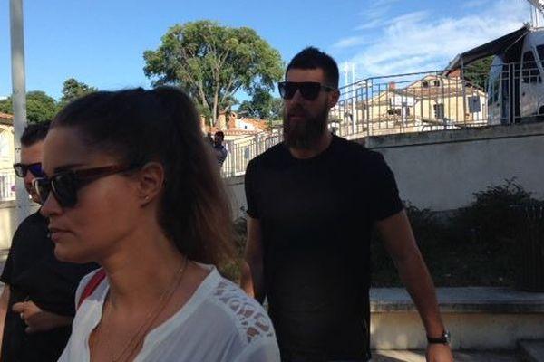 Jennifer Priez et Luka Karabatic le 16 juin 2015