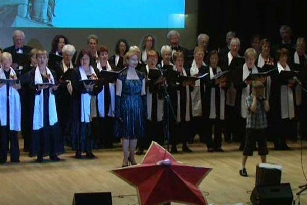 Le chœur Crescendo d'Amiens à l'ambassade de Russie