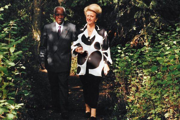 Colette et Léopold Sédar Senghor
