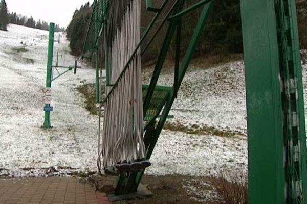 La station des Bagenelles en manque de neige