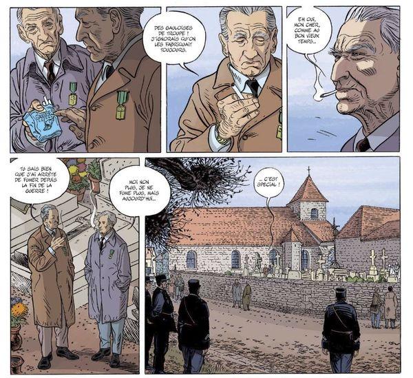 Pierre Messmer - Planche extraite des Compagnons de la Libération