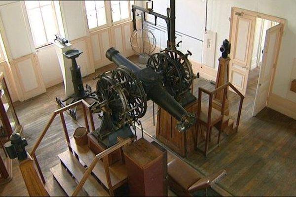 La méridienne de l'Observatoire de Besançon