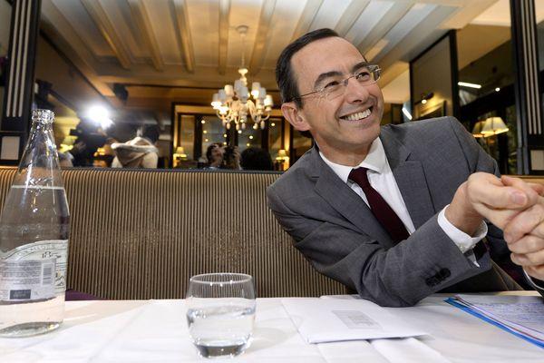 Bruno Retailleau, parti Les Républicains, annonce son alliance avec le Modem pour l'élection régionale des 6 et 13 décembre 2015