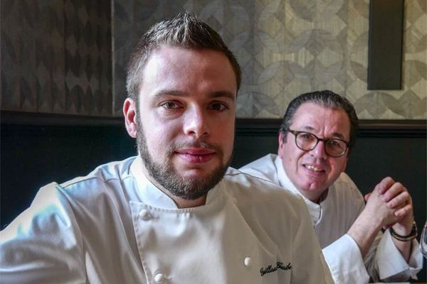 Chef Guillaume Guibet