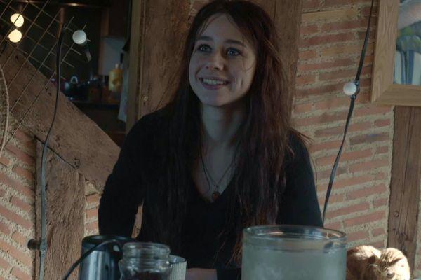Photo de Julie, chez elle, dans son royaume du Vernou