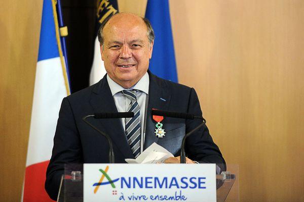 Christian Dupessey avait été élu maire d'Annemasse le 15 mars dernier malgré une abstention de plus de 72%