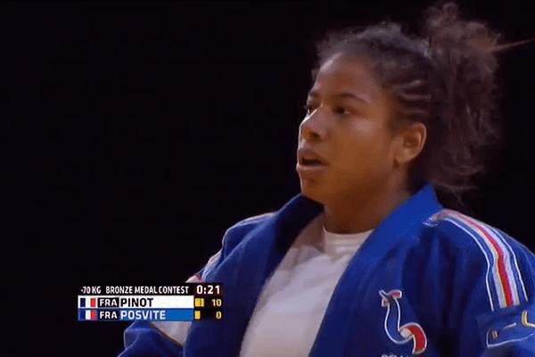Fanny-Estelle Posvite participait, en octobre 2015, au tournoi de Paris, le plus important du monde