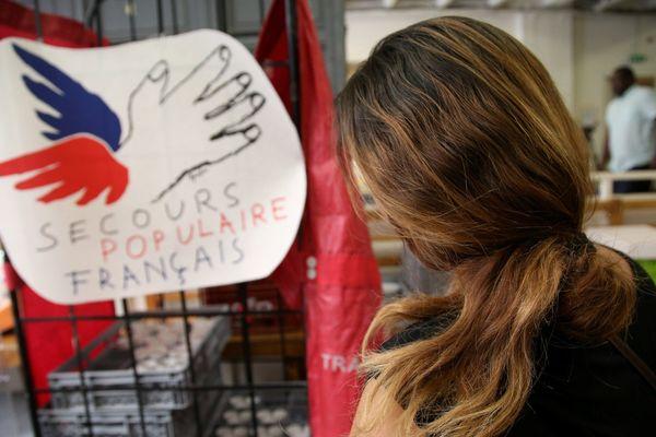 Pour éviter la propagation du coronavirus, le Secours populaire français a fermé toutes ses boutiques solidaires en France. Photo d'illustration