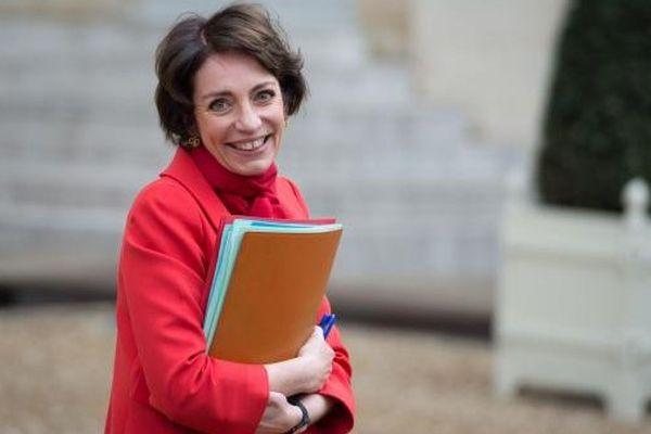 La ministre de la Santé, Marisol Touraine, dans la cour de l'Elysée, le 5 février 2014.