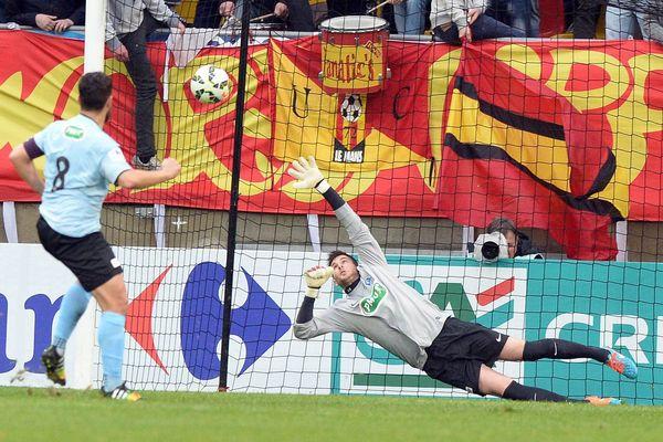Bryan Bergougnous a inscrit le deuxième but sur penalty pour le Tours FC.
